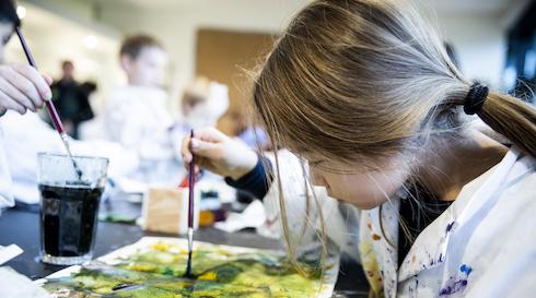 Kunstskole for børn (2-4 kl.)