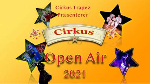 Cirkus Trapez 50 min show Open Air