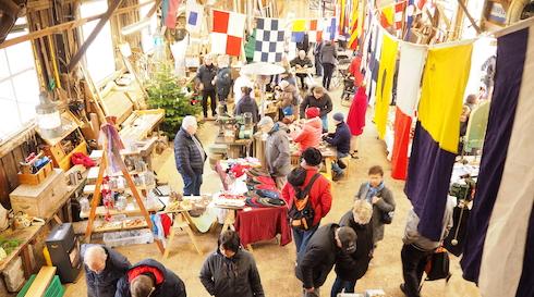 Aflyst: Julemarked på Hobro Værft