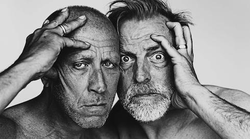 To halvgamle mænd - det store liveshow