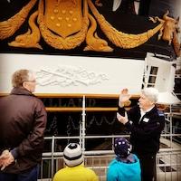 Rundvisning på Fregatten Jylland