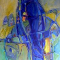 Grethe Nordal i Det Blå Rum