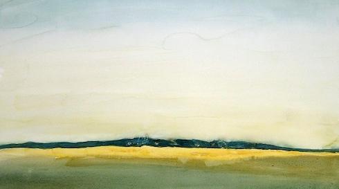 Akvarel udstilling med Marianne Gross i Galleri H marts København
