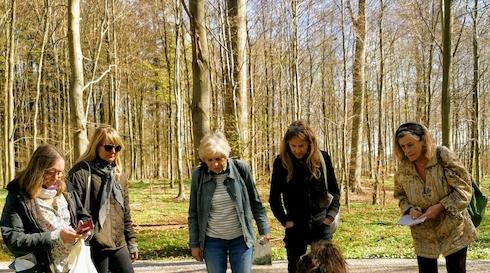 Urtevandring ved Skodsborg skov