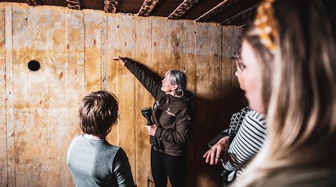 Bunkertur i Ringkøbing med Ringkøbing-Skjern Museum