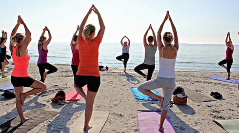 Beach Yoga i Skagen